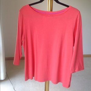 HOST PICK💝Talbots  Eye Catching Tee 3/4 sleeve